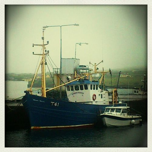 Trawler at Portmagee Kerry