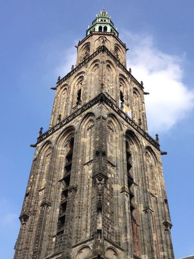 Architecture Building Exterior Built Structure Cathedral Church Groningen Holland History Religion Spirituality Tower