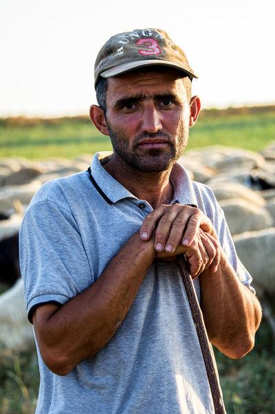 Sheepherder, Azerbaijan Azerbaijan Farmer Goats Ivanovka Man Man Portrait Sheepherd Azerbaycan Ismayilli Male Portrait Sheep Sheepherder Sheeps Tourism Destination Tourist Destination Travel Destinations