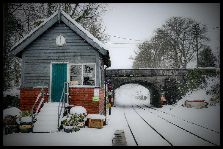 Railway Station Tullamore Ireland Ireland🍀 EyeEmNewHere EyeEm Selects EyeEm Best Shots Winter Offaly Outdoors Day No People Built Structure Architecture Building Exterior Tree