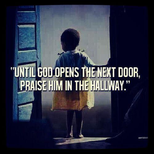 PraiseBreak BlesstheLord Atalltimes Open hallway praisehiminadvance