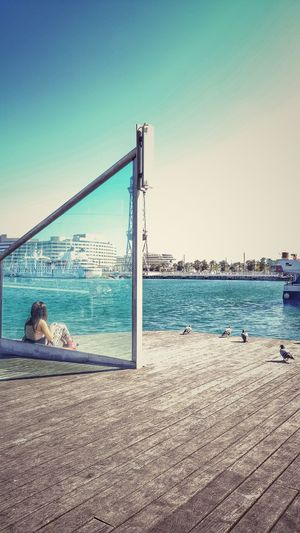 The Great Outdoors - 2016 EyeEm AwardsBarcelona, Spain Travel Destinations Taking Photos Enjoying The View Travel The World Traveldiaries Eyeem Photography Port Samsung Galaxy S6 Edge+ Boardwalk Eyeemphotography Tourist Spot Taking Pictures Samsungs6edge+