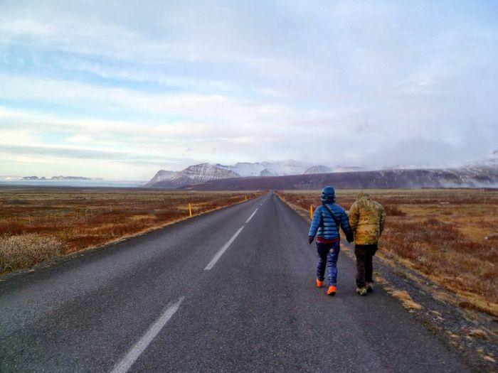 Walk to reykjavik