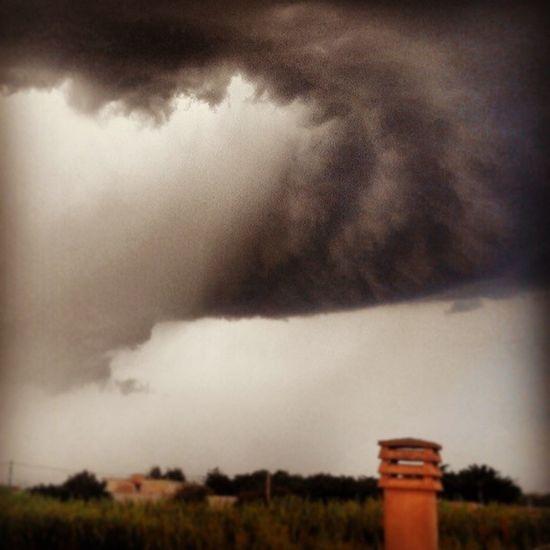 Nuvole Uragano Statidanimo Tempesta
