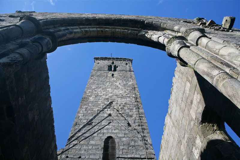 Old Cathedral - St Andrews, Scotland. Architecture Building Exterior Historic Sky