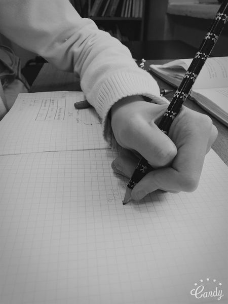 Hand Writing Writings Write Write Something Blackandwhite Black And White Black & White