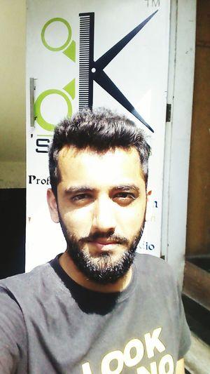 Newlook 😘💇💆 Beard Sunday Self Portrait Around The World K salon Pune City Uniqueness