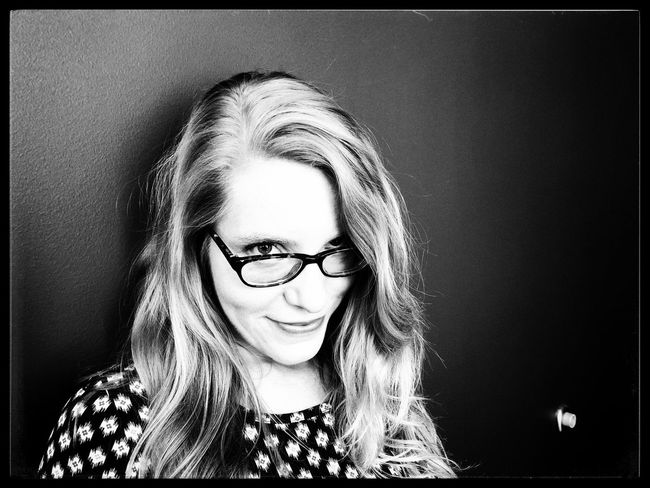"""""""I am SO ..."""" Bw_collection NEM Black&white Blackandwhite Portrait Headshot One Person Front View Real People Lifestyles Glasses"""