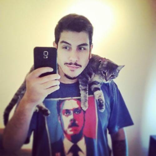 Meu novo cachecol! Cat Scarf Catsofinstagram PDF @pdfoficial