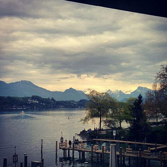 Luzern Kkl Lake View Mountains