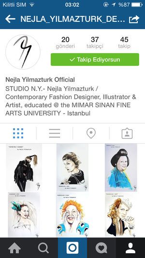 Follow my official account on instagram ! Fashion Drawing Designer  Design Photooftheday