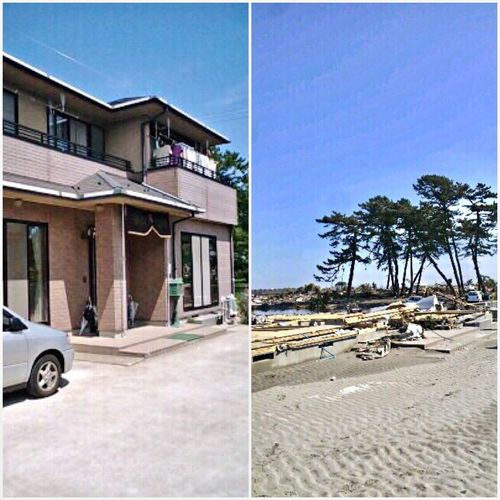 My Home 😱 Before And After March 11. 2011 A terrible tsunami followed the earthquake. After that there was not a house left standing in my hometown.We really appreciate your thoughtfulness🌎🙏🏻🇯🇵 当時はたくさんのご支援ありがとうございました🙇🏻♀️ Tsunami Tohoku Earthquake Tsunami Disaster Tsunami Area Earthquake My Hometown Sad But True  Japan Photography Damaged NeverForget R.I.P Sendai Miyagi Tohoku Earthquake In Japan Check This Out Showcase March 東日本大震災 津波 仙台 宮城県 東北 3.11