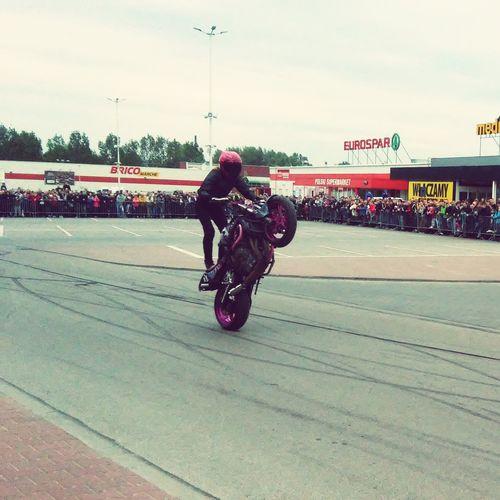 Urban Sports Cudowna Ewa Pienkowska Stunt Moto