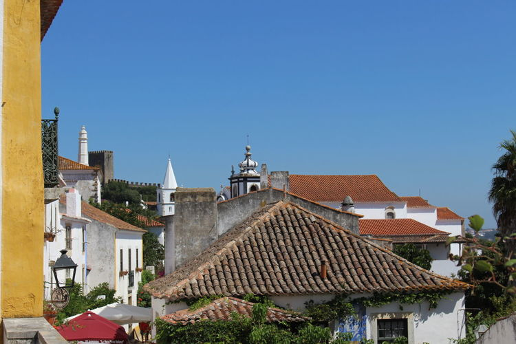 Architecture Arrival Blue City Cityscape Day Historical Villages No People Outdoors Portugal Rooftops Sky Travel Travel Destinations Tree Turism Óbidos