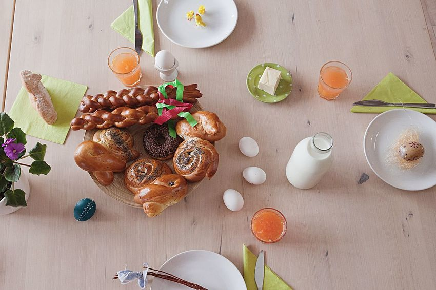 Easter Ready Easter Dining Table Breakfast Breakfast Time Morning Tradition Food Food And Drink My Favorite Breakfast Moment