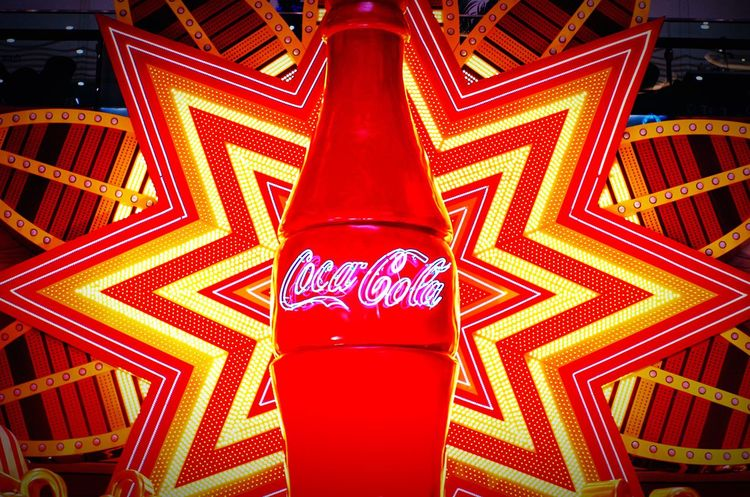 My Best Photo 2015 可口可乐 Coca-cola 霓虹灯 色彩 Colors Beautiful
