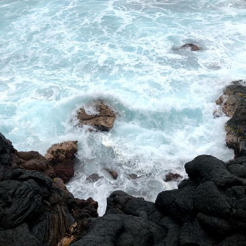 Wave Ocean View Ocean Rock Cliff Sea Water Nature Wave Rock - Object Motion Beauty In Nature No People