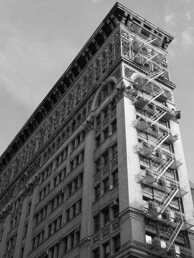 Black & White Black And White Soho Architecture