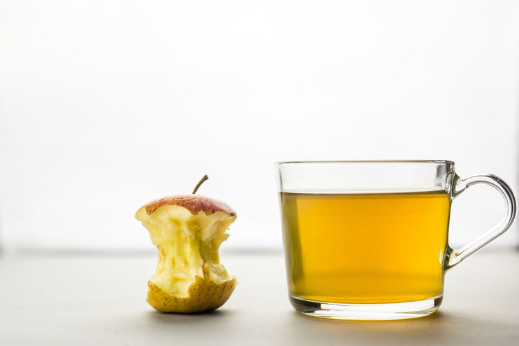 Apple Diet Diet & Fitness Tea Dieting Drink Fasting Food And Drink Freshness Green Tea Health Healthy Healthy Eating Healthy Food Healthy Lifestyle Healthylife No People Studio Shot White Background