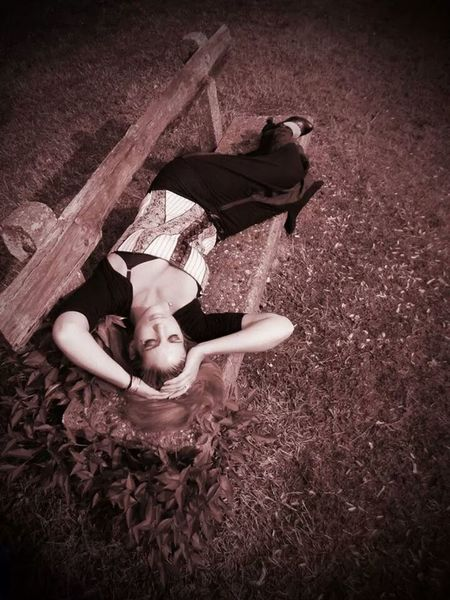 Funmodeling with a friend 1 year ago.. Modeling Duo Shoot Gothic Style