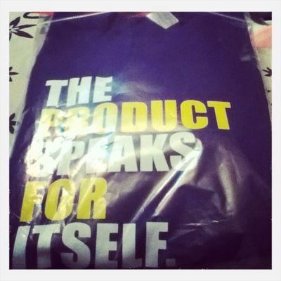 Finally Got My Product Sweat Shirt .