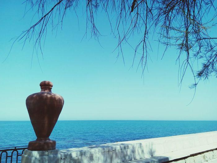 Adriatic Sea Adriatic Coast Amphora EyeEm Selects Water Clear Sky Sea Blue Sky
