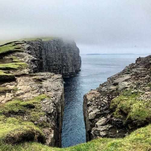 Foggy Water Sea