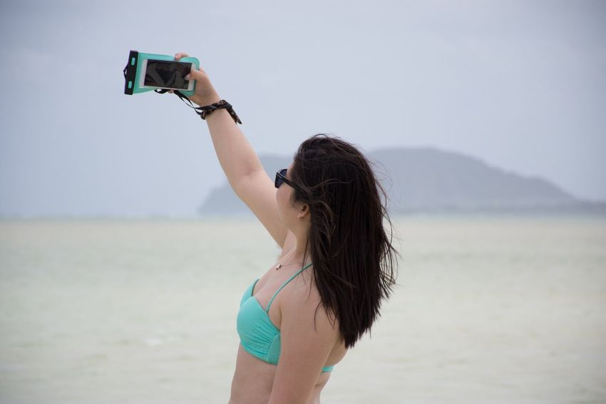 Found On The Roll Let Your Hair Down Women Who Inspire You Being A Beach Bum Getting A Tan Selfie ✌ The Following Enjoying Life Enjoying The Moment Taking Photos Taking Pictures Relaxing Vacation Enjoying The Sun Caught In The Moment Naturelovers EyeEm Best Shots Minimalism Simplicity Enjoying Nature Capture The Moment Protecting Where We Play Freedom The Essence Of Summer People Of The Oceans
