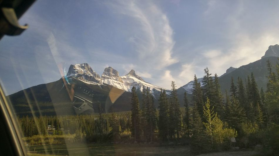 Three Sisters Mountain Canmore Alberta