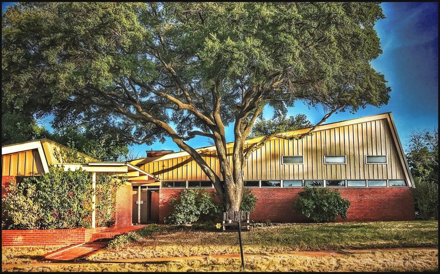 Architecture Mid Century Modern Vintage Hou Building Exterior Built Structure No People Window IPhoneography House