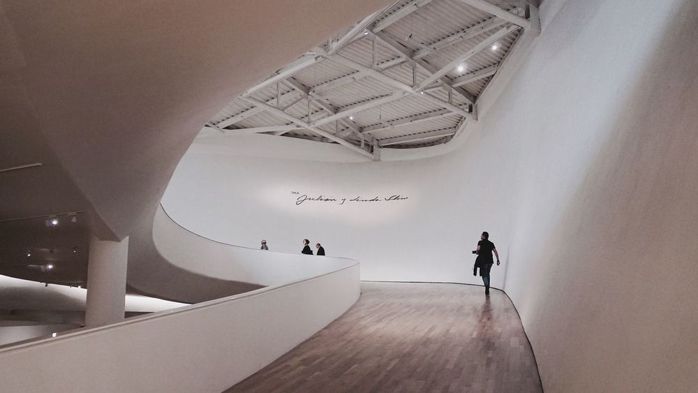 Museo Soumaya Tourist Tourism Tourist Attraction  Museum Modern Architecture Architecture Indoor Architecture White Pure Path Mexico City Wonderful museum in México DF. It's free! Neighborhood Map