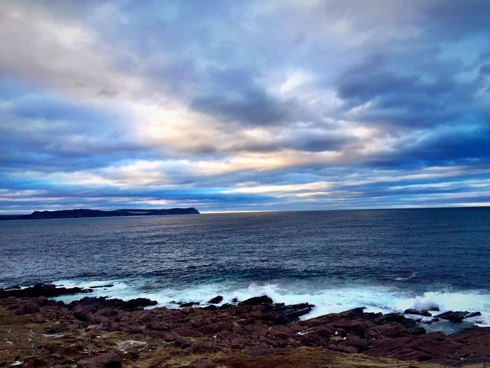 Winter by the Ocean Ocean Sea Sky Waves Nature Travel Sun Clouds Clouds And Sky Winter Seaside Seascape Landscape Cold Water Beach Enjoying Life Grass Sea And Sky Traveling Landscapes With WhiteWall The Great Outdoors - 2016 EyeEm Awards The Great Outdoors With Adobe