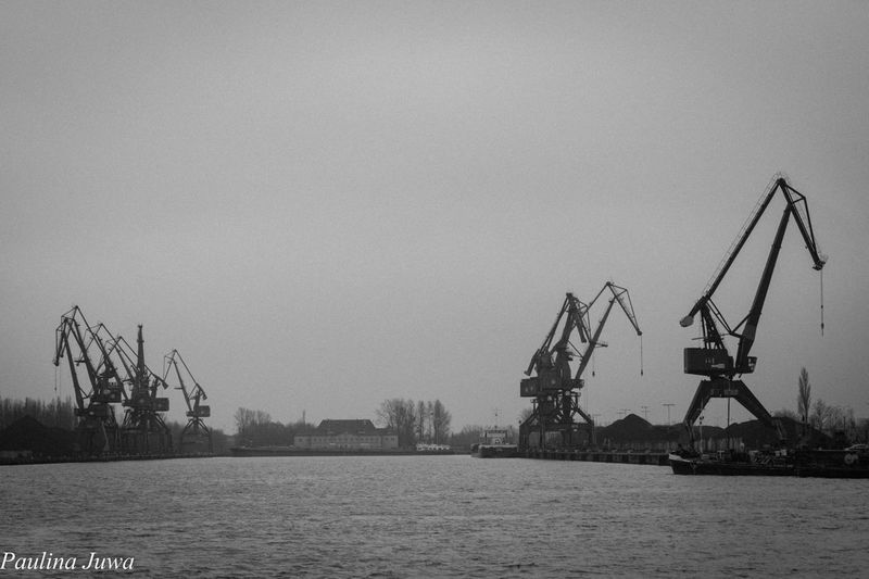 Poland Gdansk_official Industry Sea Seaport Trojmiasto Water Waterfront EyeEmNewHere