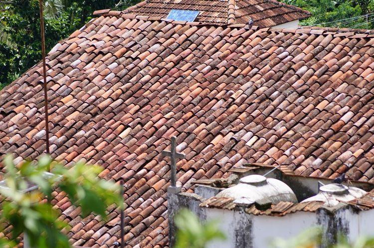 #House #pueblomagico #rooftop #tapijulapa #tejas Day No People Outdoors