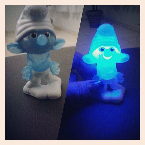 Amei o Desastrado! Smurf Desastrado McDonald 's Brinquedo azul