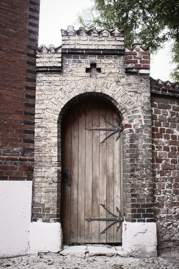 Architecture Built Structure Building Exterior Entrance Door Arch Wall Building Day History No People The Past Gate Brick Brick Wall Old Nature Outdoors Closed Wall - Building Feature Stone Wall Another Brick In The Wall
