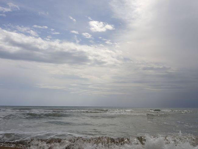 Korfu Gardenos Beach Abend Freshness Himmel Meer Wolken Wolkenhimmel Baden Beauty In Nature Cloud - Sky Day Genieße Das Leben Und Alles Ist Perfekt Landscape Nature No People Outdoors Scenics Sea Sky Sunset Tranquil Scene Tranquility Urban Wasser Water Wolkenstimmung