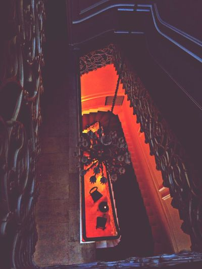 Spiral Staircase Stairs Red Carpet Carpet