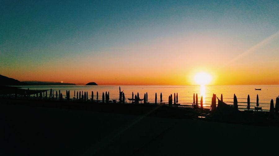 Sunset Water Sea Sun Tranquil Scene Horizon Over Water Tranquility Scenics Beauty In Nature Nature Calm Majestic Dark Sky Beach Italy🇮🇹 Italia Italy Italy❤️ Italiansea Sealife Laigueglia Alassio Liguria Sunset