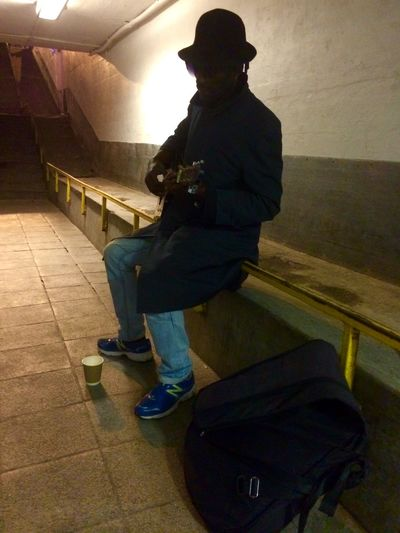 Street Musicians Guitar Mr Guitar Man Beautiful Sound Subway Sounds Taken Me Back In Time