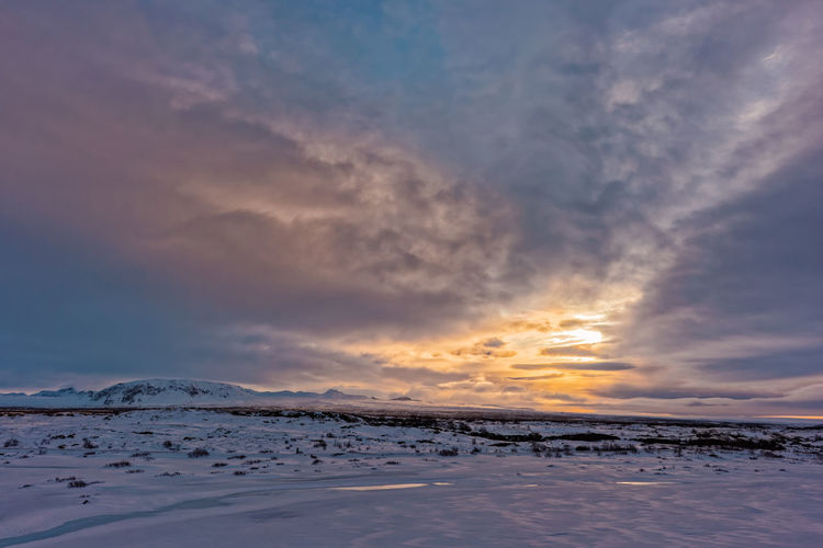 Thingvellir National Park Beauty In Nature Clouds And Sky Cloudscape Dramatic Sky Sun Thingvellir National Park þingvellir Landscapes 43 Golden Moments Ice Age Feel The Journey