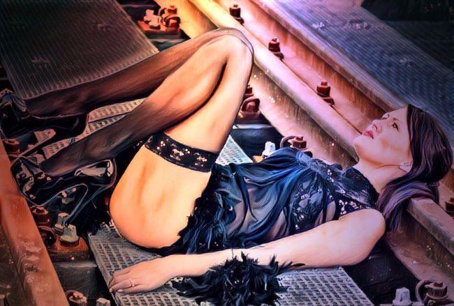 Draw me like one of your french girls🖕🏼 Railstation Polishgirl Photooftheday Shoes Loveshoes FuckYou Ladyboss Onelife Change