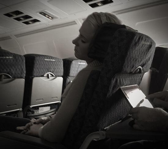 Airplane Sleeping Sleeping Girl Sleeping On A Plane Traveling Beautiful Girl The Week On EyeEm