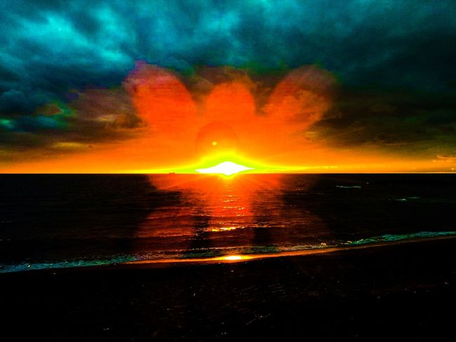 Sunset Beautiful Nature Sunset_collection Nature_collection Beautiful Sunset Sea Sea And Sky Beach Sunset And Clouds  Sunset_captures