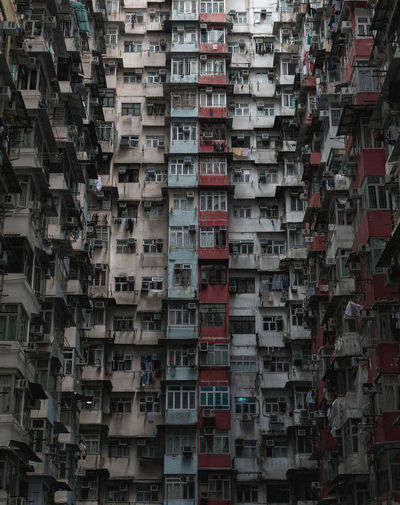 Yick Fat building in Hongkong HongKong Yick Fat Apartment Architecture Building Exterior Built Structure Condominium Housing Settlement Pattern Photography Repetition Transformers Window