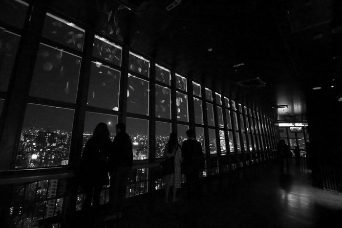 tachu naito design Being A Tourist Taking Photos Hanging Out Sakura Projection Mapping EyeEm Best Shots - Black + White Bw_collection Momochrome Interior Views
