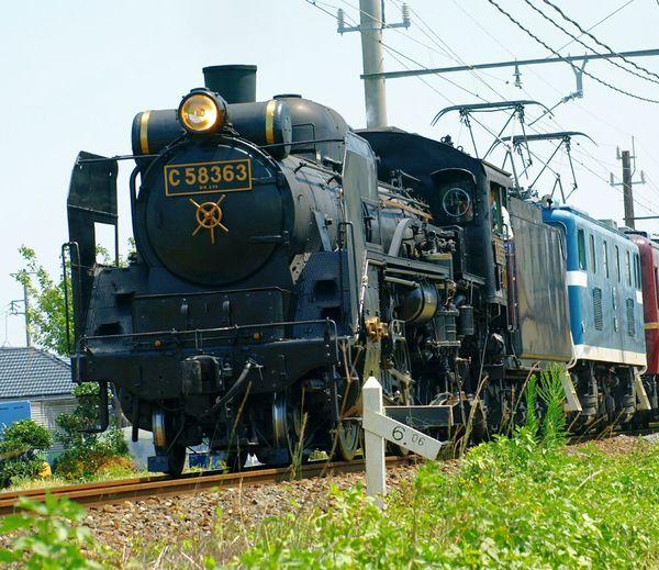 Saitama Saitama , Japan 秩父線 C58 Steam Locomotive SL パレオエクスプレス