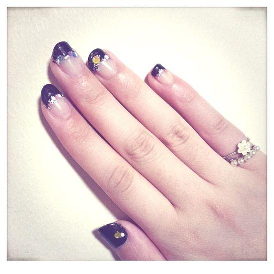 セルフネイル💅 That's Me Relaxing Fashion Self Nail French Nails