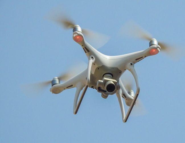 Drone  Djiphantom4 Djiphantom4drone Phantom 4 Close-up Flying Flight Mid Air