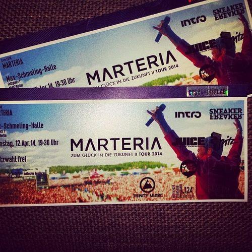 Zum Glück wird die Zukunft toll! Marteria Maxschmelinghalle Vorfreude Zgidz2 marsi highlight